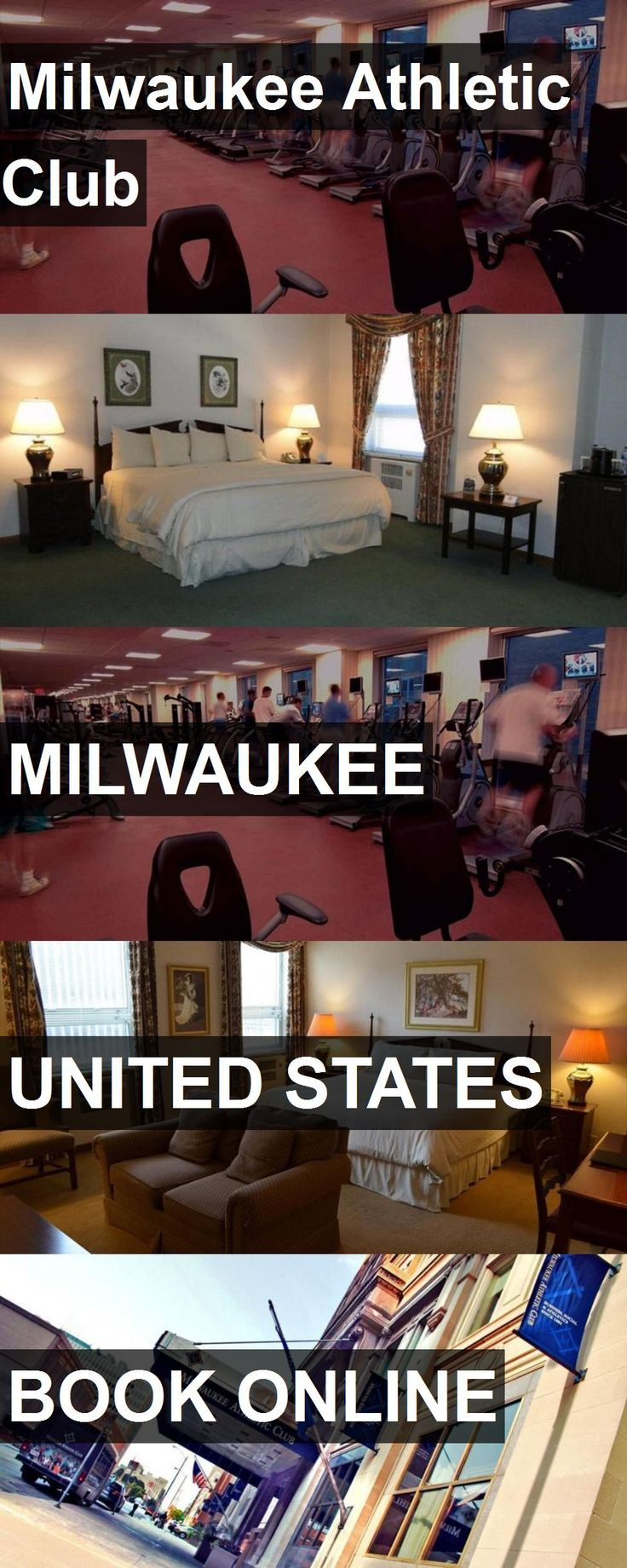 Hotel Milwaukee Athletic Club in Milwaukee, United States. For more information, photos, reviews and best prices please follow the link. #UnitedStates #Milwaukee #travel #vacation #hotel
