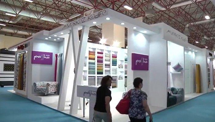 Merkez Kadife- EVTEKS 2015 İstanbul Exhibition stand.