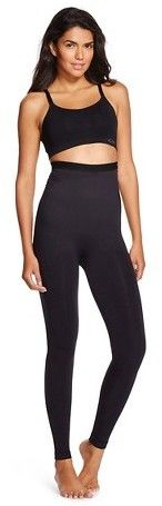 Assets by SPANX Assets® by Spanx® Women's Hi Waist Seamless Leggings - Black