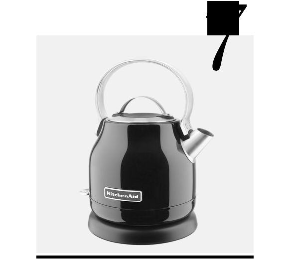 Stainless-Steel-Electric-Tea-Kettle-KitchenAid-top-10-black-colored-kitchen-accessories-home-decor-ideas-kitchen