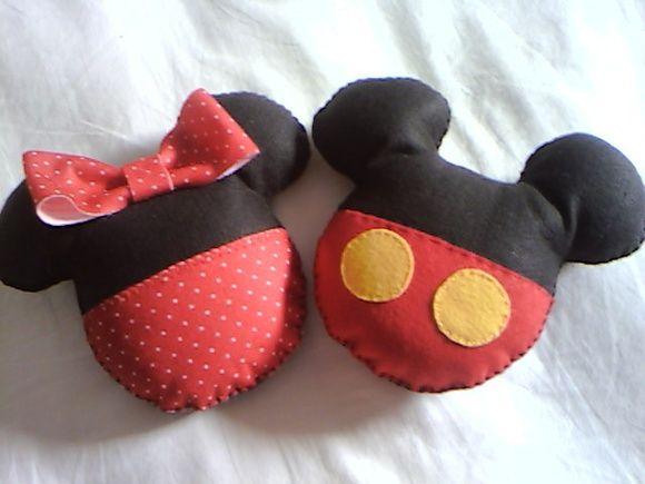 Mini almofadas MIckey & Minnie