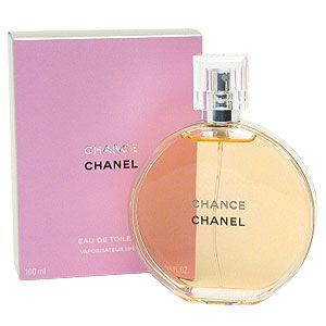 Chance perfume by Chanel is a sensual, sweet, and spicy blend of hyacinth, white musk, pink pepper, fresh vetiver, iris, amber, and patchouli.