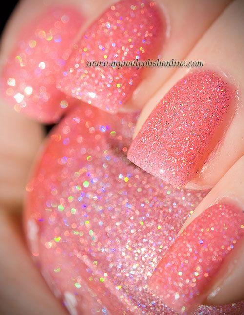 Kleancolor - Holo Pink #nails, #fashion, facebook.com/...