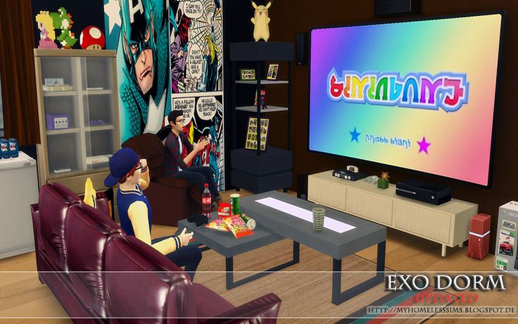 """from the Lot """"Exo Dorm"""" (Updated Version II)"""