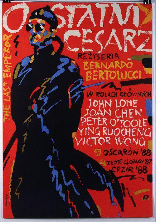 The Last Emperor, Polish Movie Poster