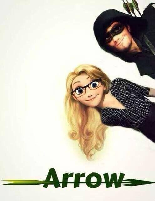 Disney Arrow - Olicity That's basically it..... Purrty much....but Finn sass would better suit the flash, batman, or Spider-Man
