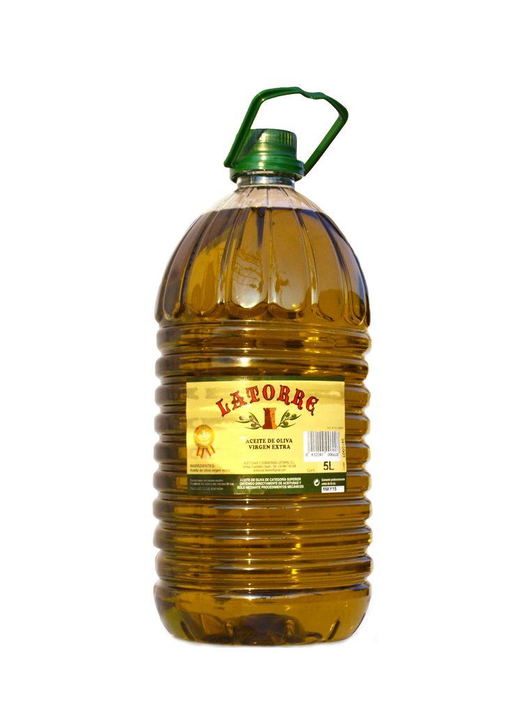 Garrafa 5 L Aceite de Oliva Virgen Extra Latorre