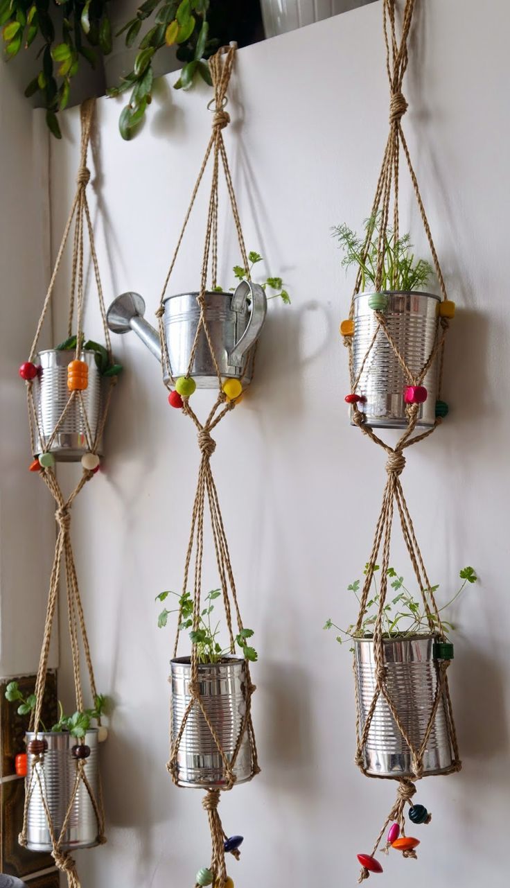 Minimal Boho: My own little herb garden