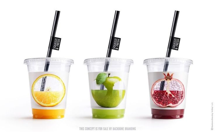 juice cups - While there are many designs for juice cups and bottles that are transparent in order to show off the vibrant colors of the beverage, Backbone Bran...