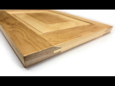 Making Raised Panel Doors On The Table Saw - YouTube