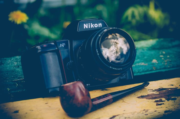 Nikon F-801 + Jupiter 9 85mm lens - The Nikon F-801 (sold as the N8008 in the US market) is a 35mm SLR of the late 1980s. Although its autofocus mechanism is slow in comparison to modern standards, it was an improvement on Nikon's first attempt at an autofocus SLR - the F-501 (N2020 in North America), and proved to be reliable and durable, typical of Nikon's cameras.