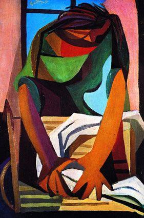 Renato Guttuso La lavandaia, 1947