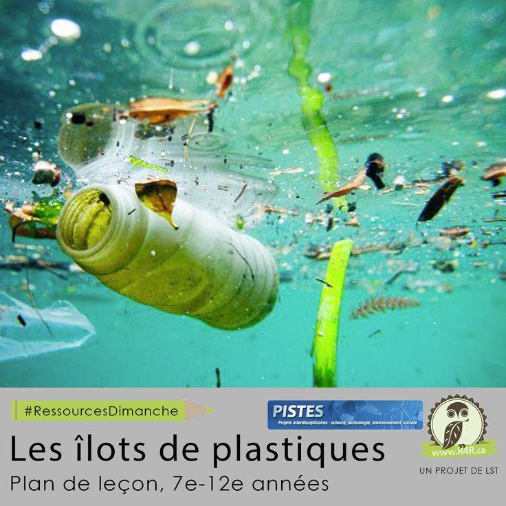 Cette semaine, pour #RessourcesDimanche de #R4R.ca, «Les îlots de plastique.» La ressource les Îlots de plastique vise à développer la réflexivité des élèves quant à leur consommation de matières plastiques. Elle leur permet de contextualiser différents concepts scientifiques liés à une problématique d'actualité.