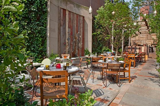 Talula's Garden - Philadelphia, Pennsylvania. I'm lucky to live near such a cool-looking restaurant! I mean, I have no idea what they serve there, but I'd like to go there. Even if it's just to look! #philadelphia #philly #restaurant