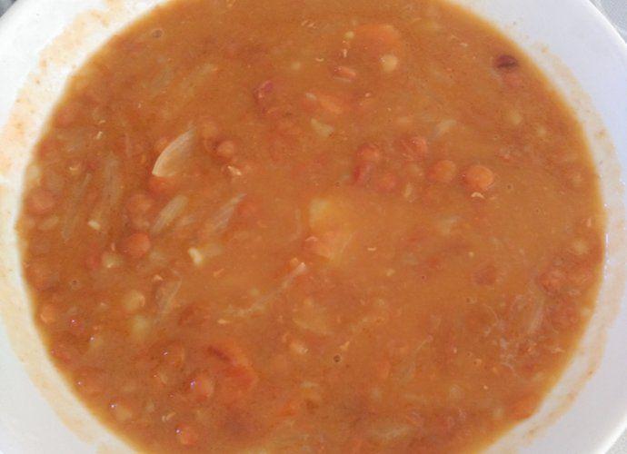 Lentejas espesas de invierno para #Mycook http://www.mycook.es/cocina/receta/lentejas-espesas-de-invierno