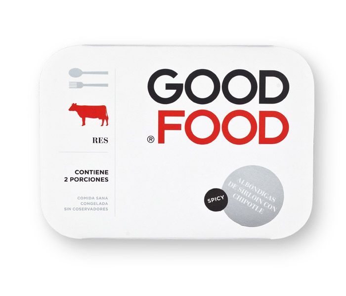 "GOOD FOOD packaging by Face    ""Good Food has the vision to bring back the taste to a fast meal. Made with really good ingredients and recipes, they offer traditional mexican recipes in the very easy frozen food process. Face had to design a reflection of this statement with a very clean, simple, international look, to make people believe in frozen food again, now in a good way."""