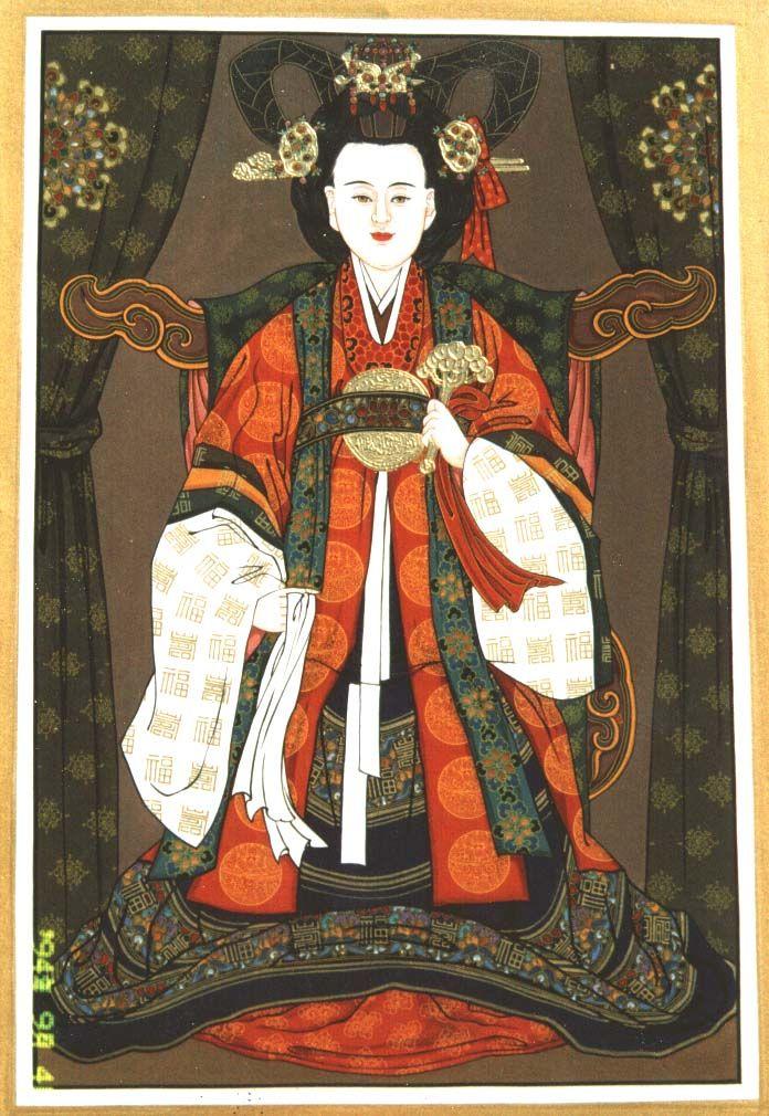 무속갤러리 - 바리공주 Bari Gongju, the Abandoned Princess - in Shaman rituals she is the one who guides the spirits of the dead into the afterworld