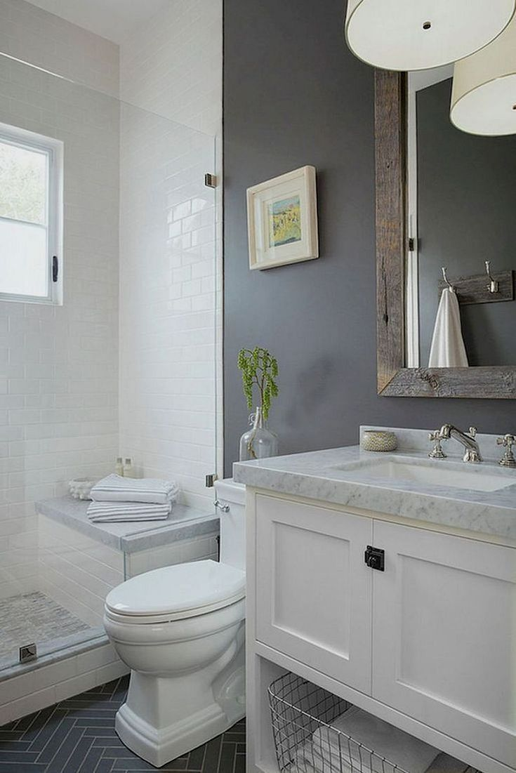 If You Re Not Considering Getting The Bathroom Painted Here Are A Few Additional Ideas Which Y Bathroom Remodel Master Small Master Bathroom Bathrooms Remodel
