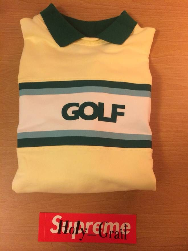 f293bf773e2373 Golf Wang Country Club Collared Shirt Size US M   EU 48-50   2