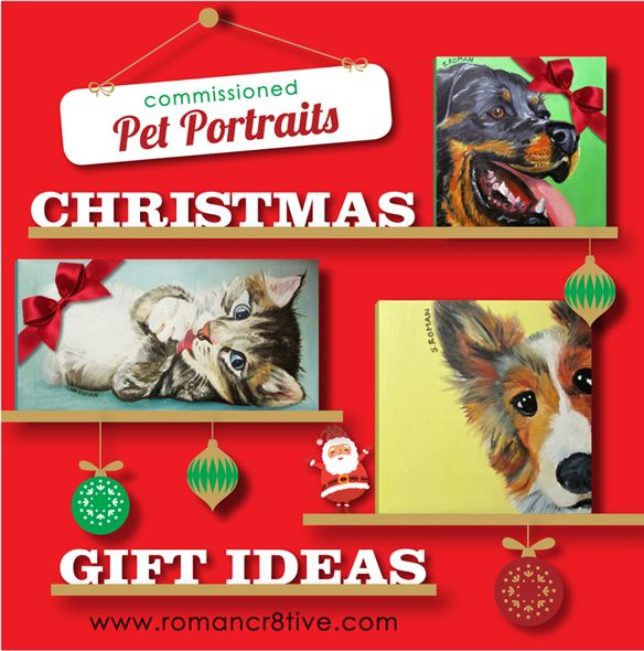 Christmas Gift Ideas: Portraits and Vouchers