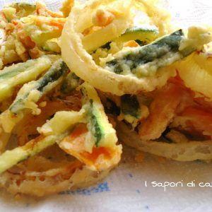Tempura di verdure – ricetta giapponese