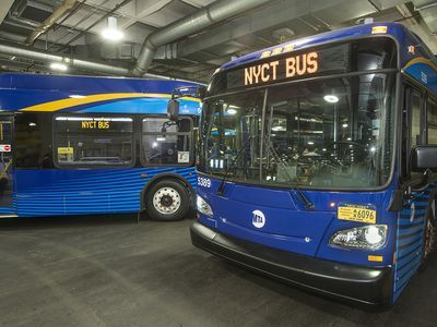 First Look at the MTA's New Fleet of Tech-Friendly Buses