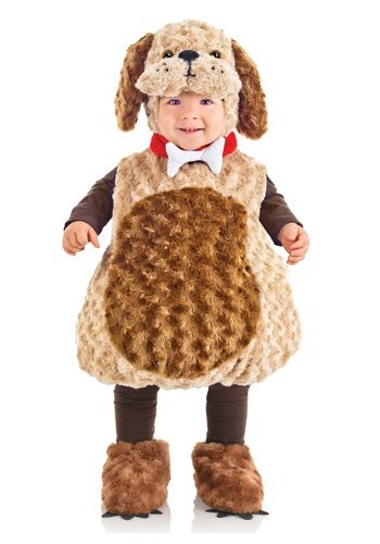 If your child loves playing with the family dog, then they'll certainly love going in our Toddler Puppy Costume! It's a soft and comfy look for Halloween.