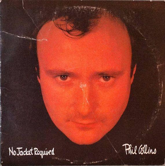 Phil Collins  No Jacket Required  1985  LP Album Vinyl