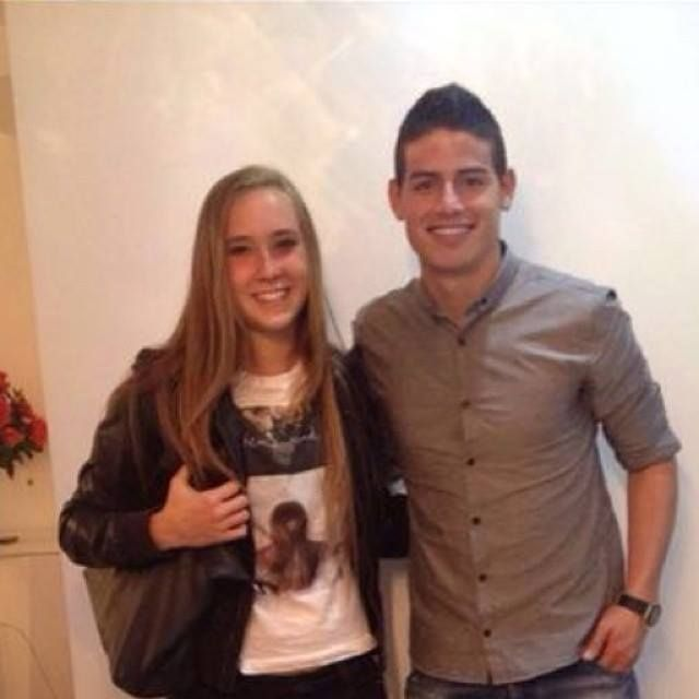 Nicole Regnier And James Rodriguez!