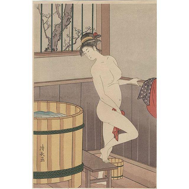 Side of bath 風呂あがり前