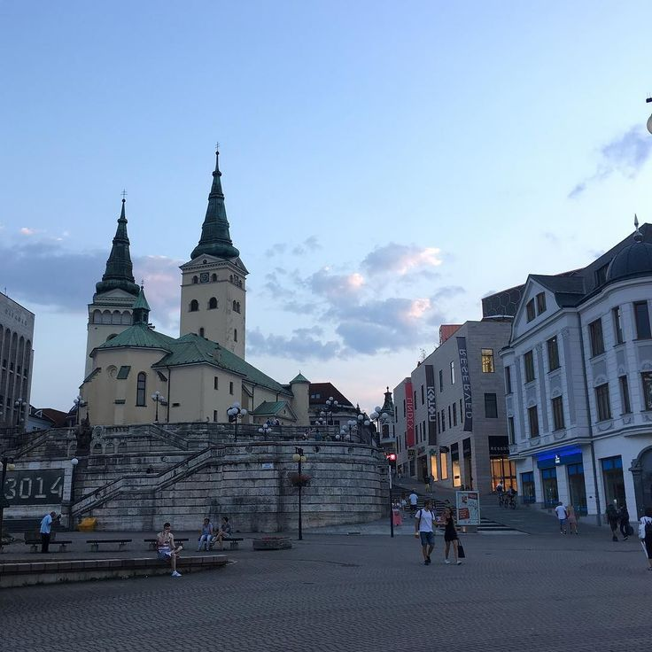 Is it still my home? What's the definition of home? I'm confused...  #back #home #zilina #square #church #hometown #town #confused #where #architecture #beautiful #photography #photooftheday #leaving #again #tower #city #pretty #childhood #memories