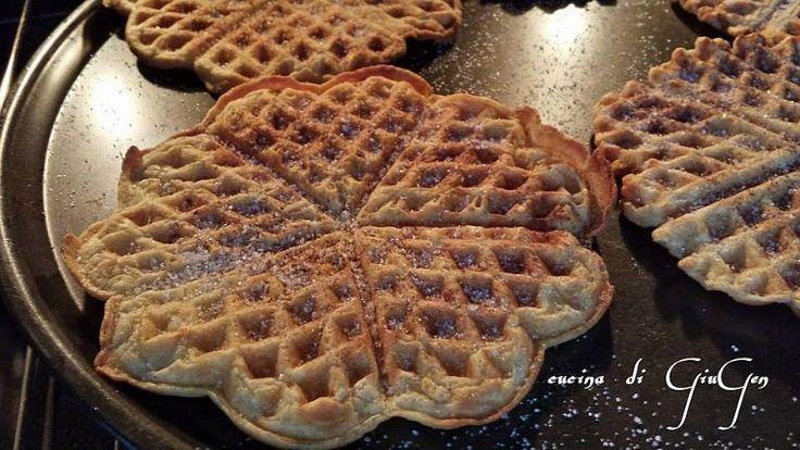 Waffles senza zucchero