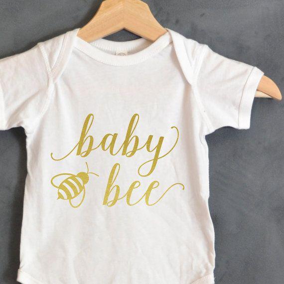 Baby Bee Shirt, Baby shower gift, Baby announcement, Baby gifts, Baby Bear shirt, First birthday, Baby Bear Onsie, Mama Bear, Papa Bear