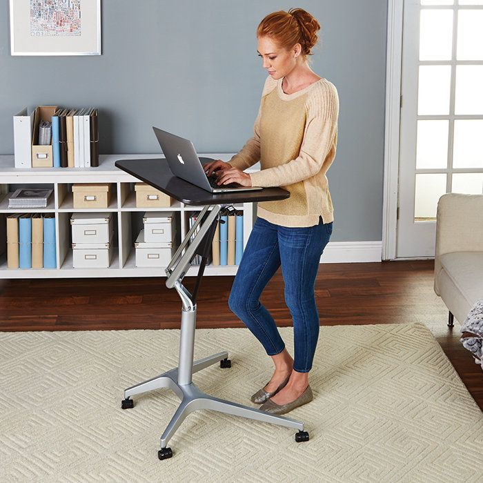 This height adjustable table is sure to impress.                                                                                                                                                                                 More