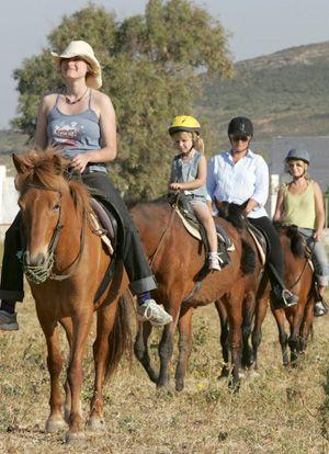Horseback Riding in Paros
