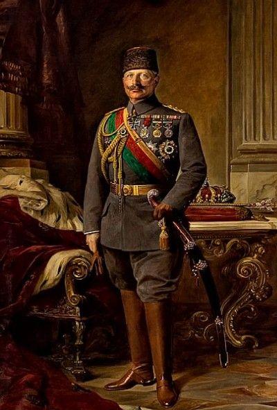 Kaiser Wilhelm II, 1916. Ölbild im Kaiserlichen Botschaftspalais.