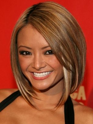 Celebrity Long Bob Hairstyles | Pinning for when I donate my hair again, even though I loathe the look of me with short hair!