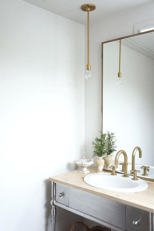 Die besten 25+ Spiegel mit Glühbirnen Ideen auf Pinterest - esszimmer h amp auml ngeleuchte