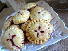 """Blackberry Pie """"Cookies"""" Yum!! I'd like them with apricot, cherry, blueberry. You could even do pumpkin pie filling."""