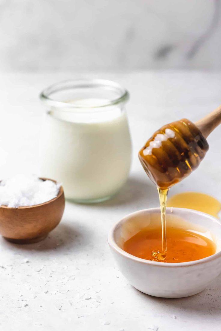 Gesalzene Honigschlagsahne