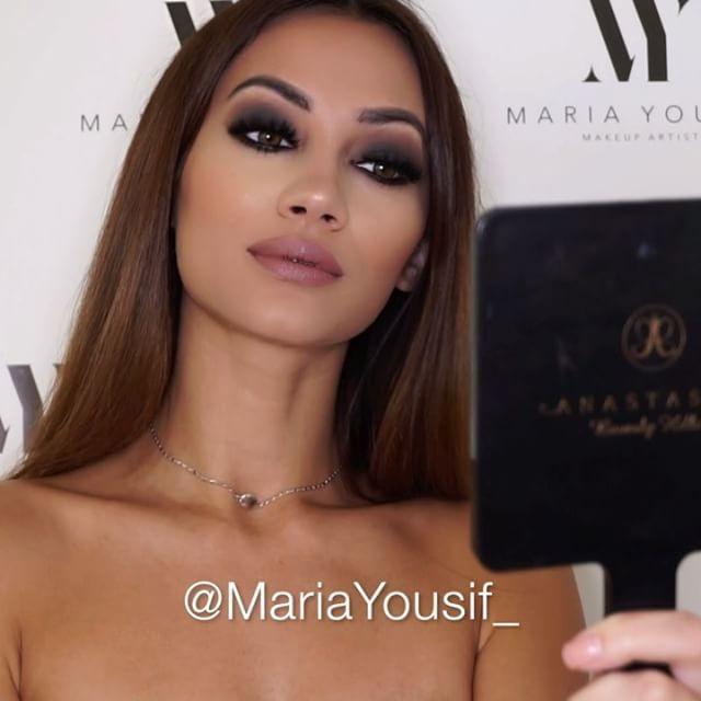 "1,424 Likes, 36 Comments - Maria Yousif Makeup Artist (@mariayousif_) on Instagram: ""She's smokinnnnn 🚬❤🎥 PRESS PLAY  @nyxcosmetics_australia photo loving primer  Eye primer 'soft…"""