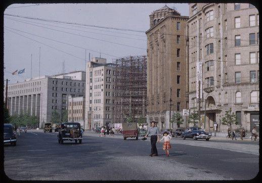 東京 日比谷 : 【日本カラー写真】昭和20~30年代の懐かしい風景と人々の生活 380枚 - NAVER まとめ