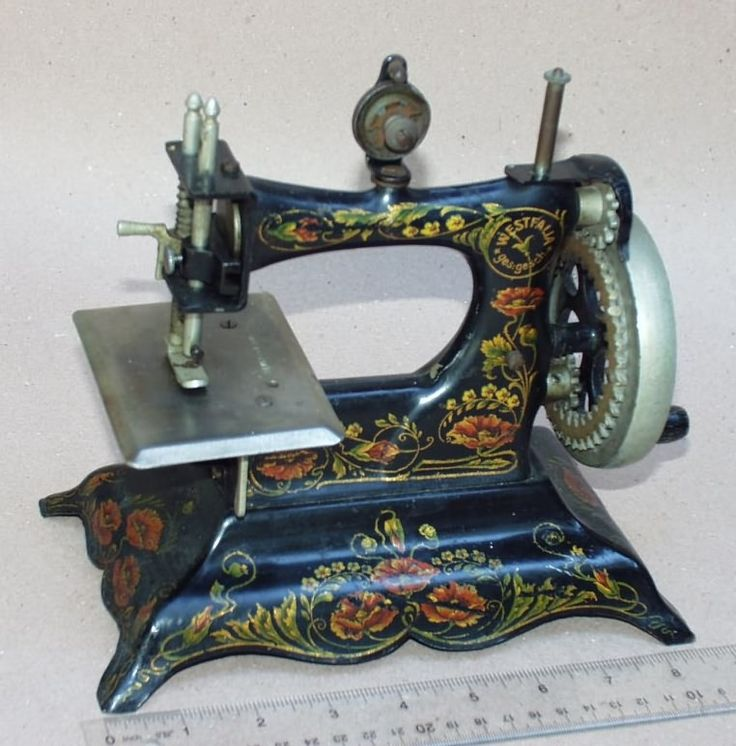Best Antique Toys : Best images about antique toy sewing machines on