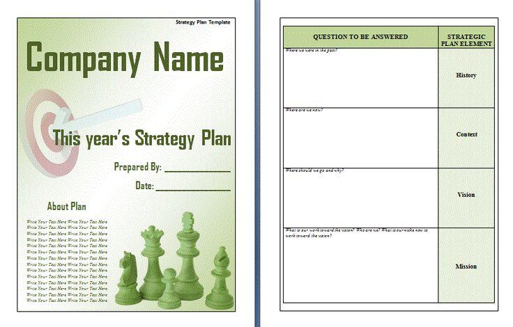 Strategic-Plan-Template