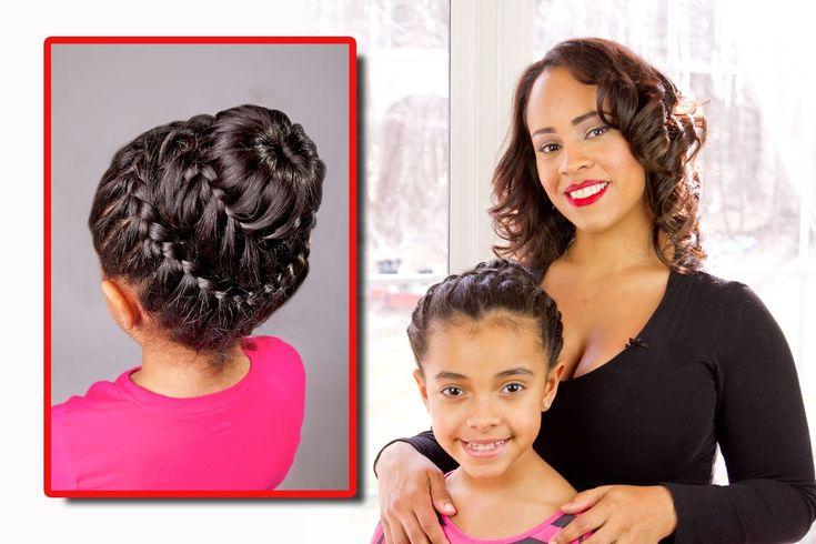 15 best peinados faciles para ni as images on pinterest - Peinados para ninas faciles de hacer ...