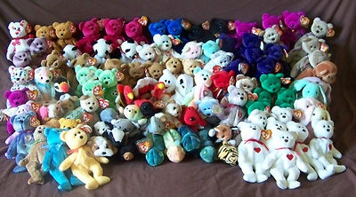 Wow look at all those TY bears