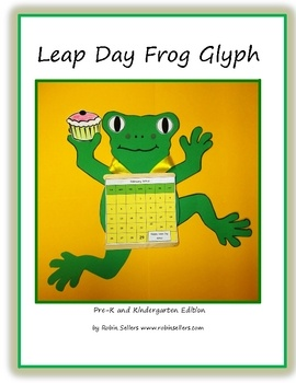 Do you need some Pre-K/K fun for Leap Day? Here's a cute Leap Day Frog Glyph that will let your students create a great take-home craft and help th...