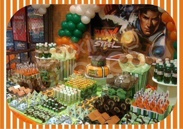 Caixinha Surpresa: Festa Max Steel