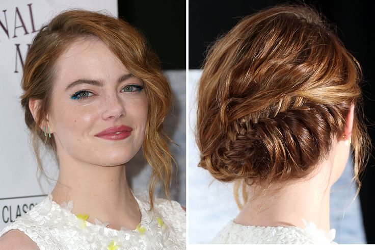 Rock this braided updo to your next formal event.