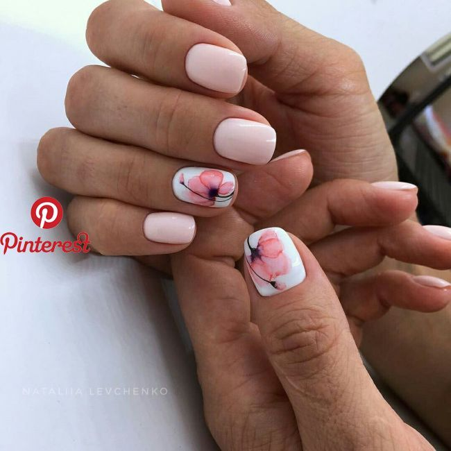 Trenzas With Images Perfect Nails Manicure Cute Spring Nails